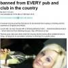 O englezoaica are interzis la alcool in toate barurile din Anglia