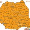 Harta foamei din România pe judeţe afectate