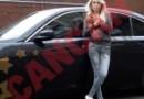 Sexy Braileanca din Dusseldorf si-a luat BMW seria 7
