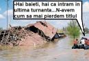 """Judeţele Buzău si Vrancea vor găzdui în acest an """"Inundaţiile de primăvară"""""""