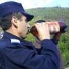 Un jandarm din Craiova s-a bătut singur pentru că şi-a adresat cuvinte obscene