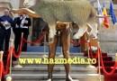 Gigi Becali vrea că lupul din brațele statuii lui Traian nud să fie deghizat în oaie! Vezi cum arată!