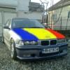 Gest patriotic al cocalarilor din Harghita si Covasna: si-au vopsit BMW-urile in tricolor!